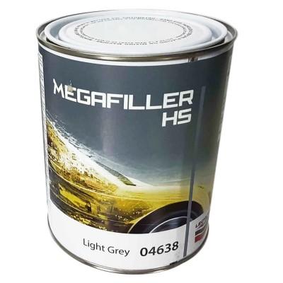 Грунт наполнитель светло-серый MEGAFILLER HS 04638