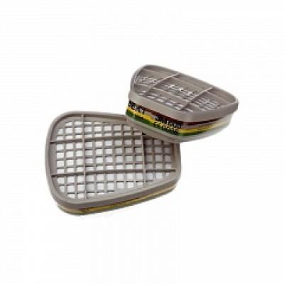 3М Фильтр для защита от паров, газов, аммиака, 2шт ABEK1