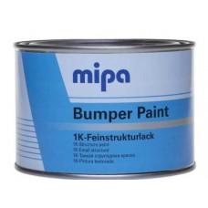 Краска структурная Mipa Bumper Paint (0,5л) черная