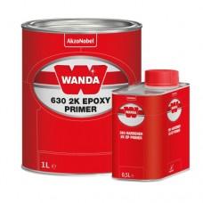 Wanda Грунт эпоксидный 630 2К Epoxy Primer 1л+0,5л отв.