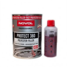 Грунт-наполнитель полиэфирный 2К Novol Protect 380 (0,8л+0,08л)