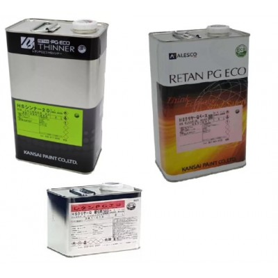 Комплект KANSAI Лак 2К 2:1 Retan PG ECO HS CLEAR (Q) +Разбавитель+Отвердитель (4л+2л+1л)