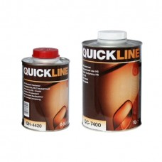 QUICKLINE 7400 Прозрачный лак HS 2:1 (комплект 1л + 0,5л)