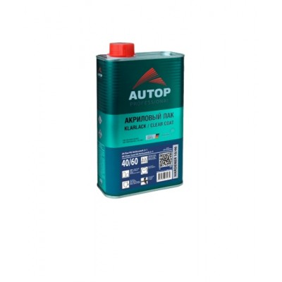 AUTOP Лак прозрачный HS 2:1 Clear TOP Anti scratch 40/60 (комплект 1,0л+0,5л)