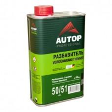 AUTOP Разбавитель Стандарт 1л акриловый. Thinner Standard