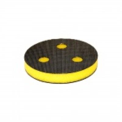 75мм ISISTEM STANDARD Подложка промежуточная T10мм на липучке, с 3 отверстиями,желтая, жесткая