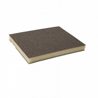 KOVAX 2*2 Medium Grey Абразивная губка 123x98x13мм