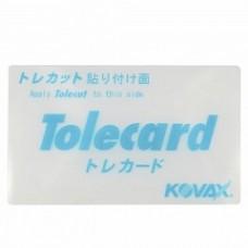 Подложка жесткая- гибкая для листов Tolecut 66*110мм KOVAX Tolecard