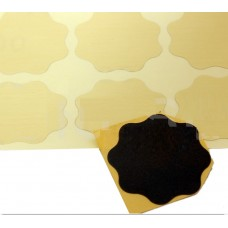 P1500 KOVAX Yellow film Микроабразивный цветок