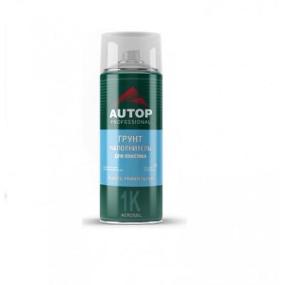 AUTOP 20/28 Грунт наполнитель для пластика серый Plastic primer filler в аэрозоли 520 мл.