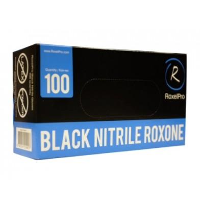Перчатки RoxelPro нитриловые ROXTOP, черные, XL