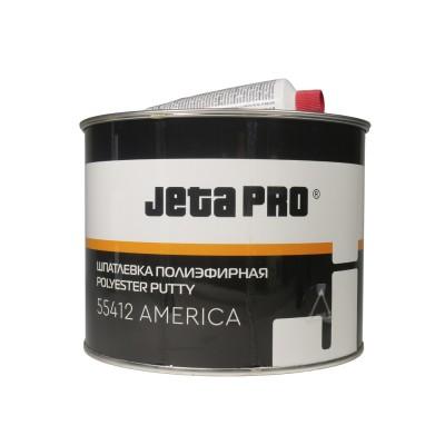 Шпатлевка наполняющая ультралегкая + отвердитель Jeta Pro AMERICA,1,5л