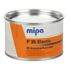 Mipa Шпатлевка P35 по пластику (темно-серая), 1кг