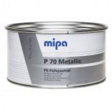 Шпатлевка c алюминиевым наполнителем P70 Metallic 2кг